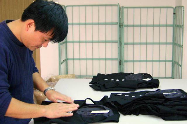 青岛服装检品:工序优化