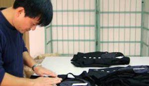 日本服装检品