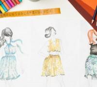 儿童服装加工厂:手绘效果图