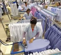 青岛外贸服装加工流水线